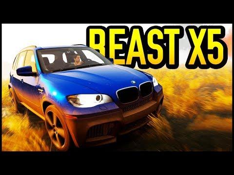 STORM ISLAND! Amazingly Good BMW X5 | Forza Horizon 2!