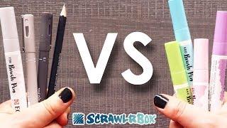 TURNING THIS DARK GAL PASTEL? - ScrawlrBox Unboxing & Challenge
