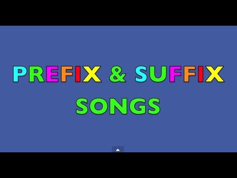 PREFIX & SUFFIX SONGS