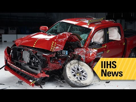 Four Small Pickups Earn Top Rating In Small Overlap Test - IIHS News