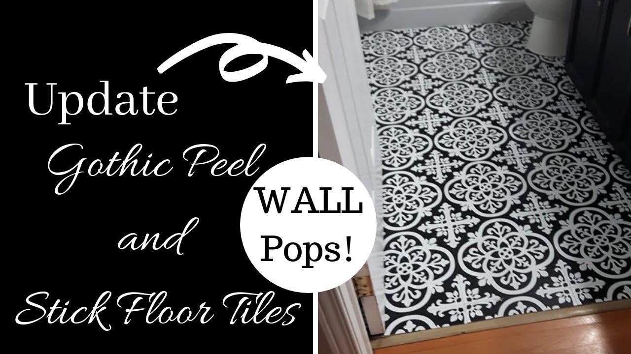 floor pops peel and sticks gothic tiles update