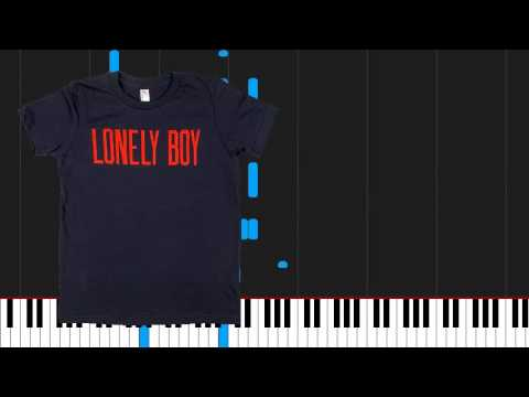 How to play Lonely Boy by The Black Keys on Piano Sheet Music