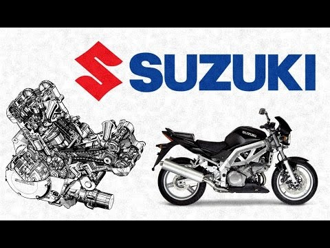 История мотоциклов Suzuki SV & SFV