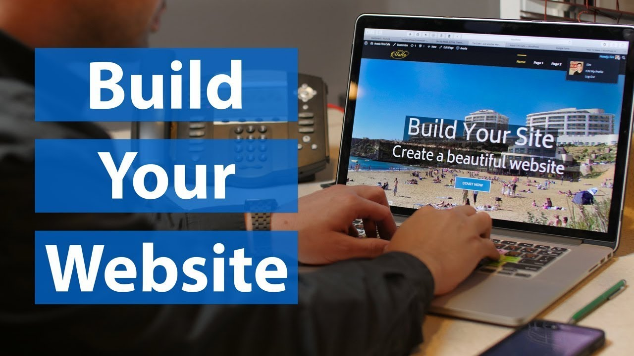 make your own professional wordpress website   free hosting