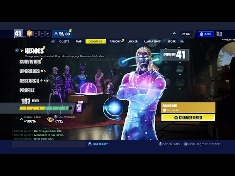 Fortnite New Update STW Now Able To Use BR Skins Galaxy Skin In STW Area 51 New Skin & Pickaxe