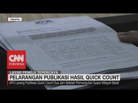 Sejumlah Media & Lembaga Survei Protes Pelarangan Publikasi Hasil Quick Count