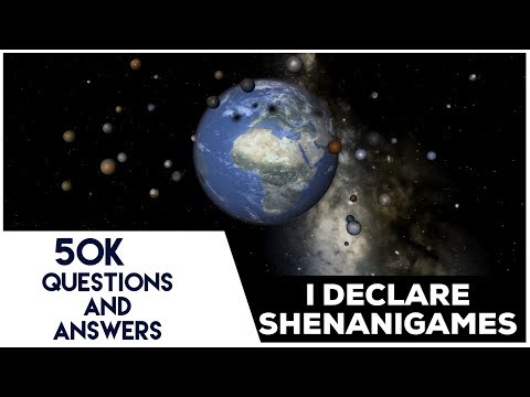 50K Subscriber Q&A : 50 Moons orbit Earth