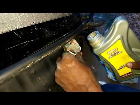 How to Change Engine oil in Honda Activa at Home