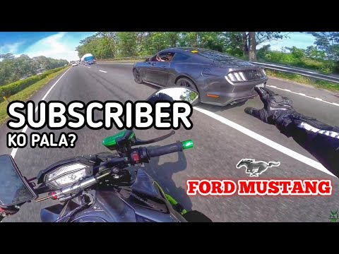 Sponsor Vlog Featuring Ford Mustang   Z1000R