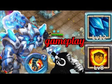 Sasquatch | Flame Guard | Dungeons | Raiding | LR | Solo | Gameplay | Castle Clash