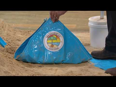 beachBUB 7-1/2' All-in-One Beach Umbrella System on QVC