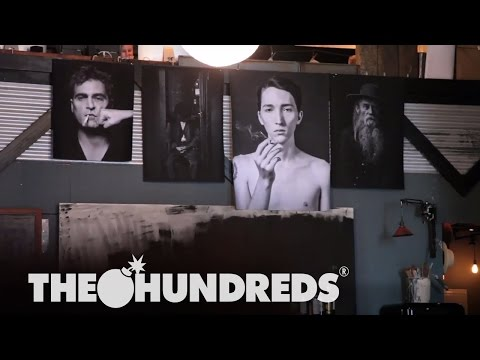 AMANDA DEMME :: IN THE STUDIO :: THE HUNDREDS