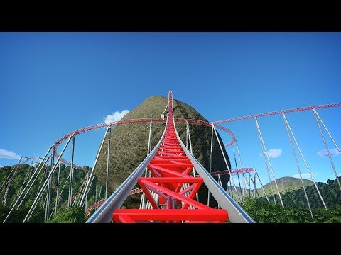 Planet Coaster: The Big Stones Roller Coaster
