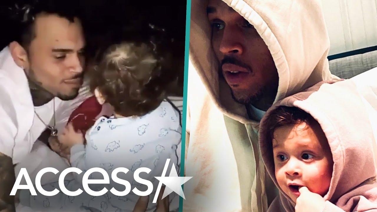 Ammika Harris Gushes Over Chris Brown & Aeko On Singer's ...