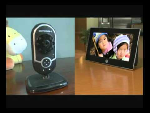 7 Inch Digital Frame Motorola Mfv700 Youtube