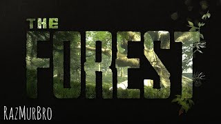 The Forest. Прибытие на остров   стрим The Forest PS4   RazMurBro