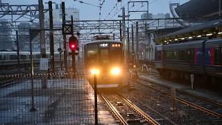 【JR西日本】近アカ321系D22編成 [A]普通西明石行き  京都到着