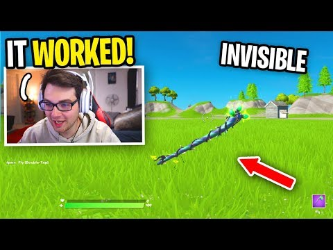 I HACKED Fortnite To Be INVISIBLE And I Used It In A 1v1... (Fortnite Chapter 2 Glitch)