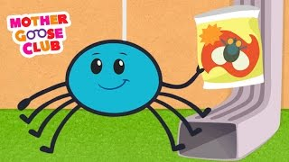 Itsy Bitsy Spider | Mother Goose Club Songs for Children