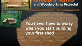 Shed Plans And Woodworking Projects