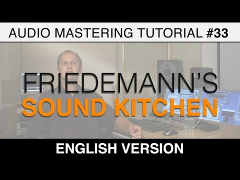 Audio Mastering Tutorial - Sound Processing: Concrete Editing Examples with Master Section Settings