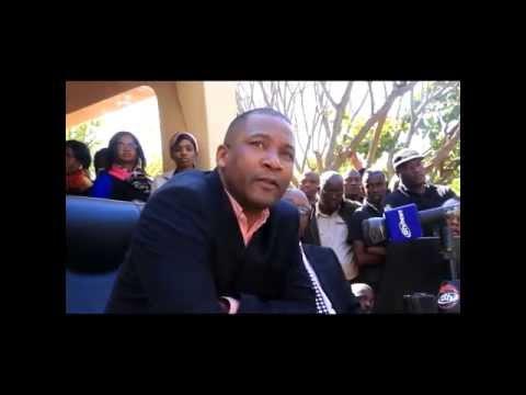 Duma Boko breaks silence on Gomolemo Motswaledi's death