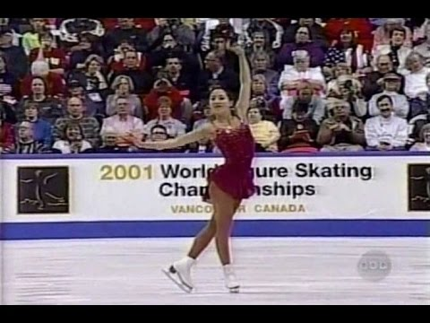 Michelle Kwan - 2001 World Figure Skating Championships - Long Program