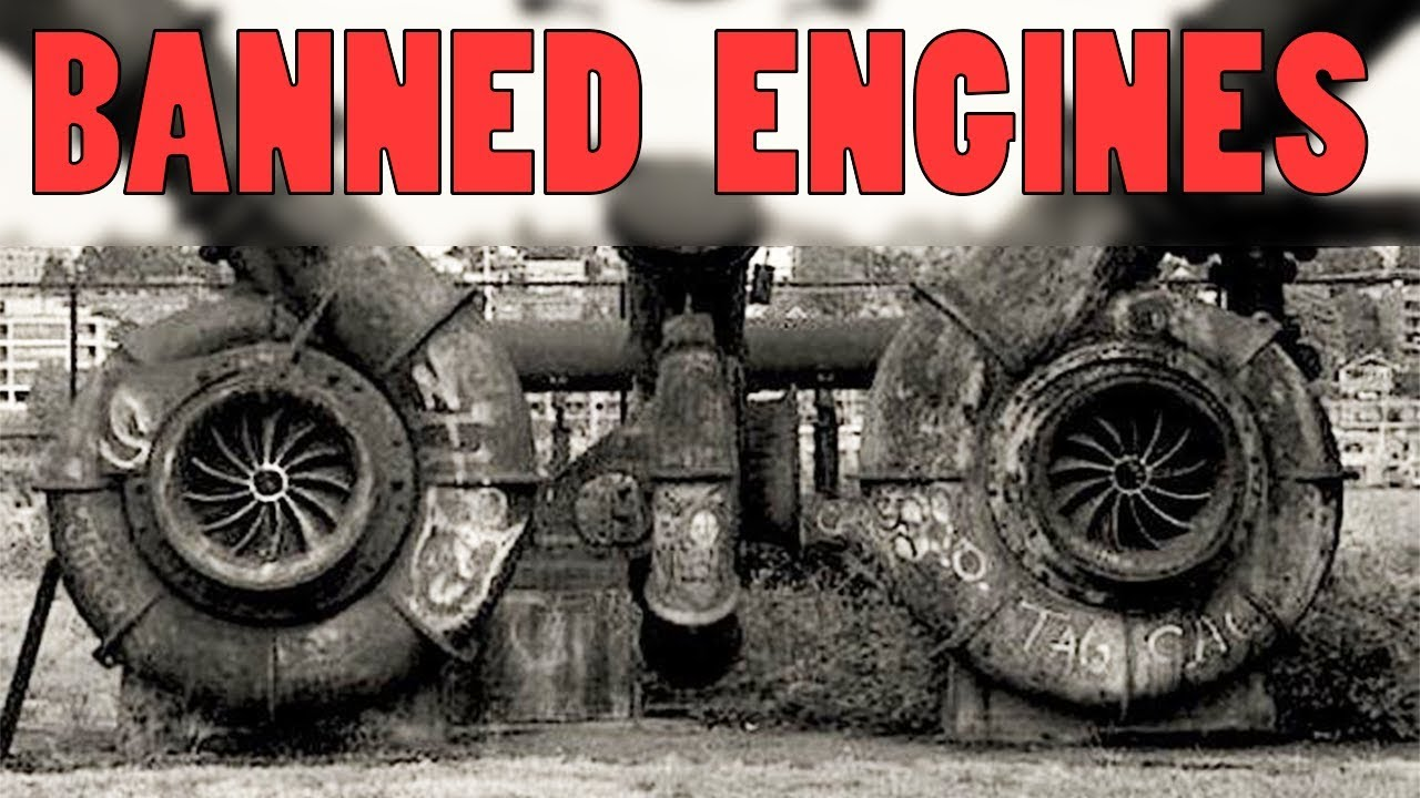WHY THESE ENGINES ARE BANNED ?