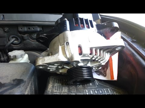 Alternator Replacement 2004 Hyundai Santa Fe 3 5l Engine