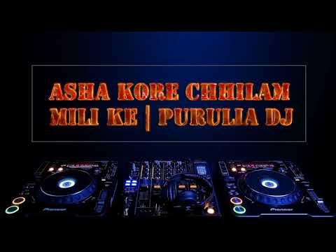 Asha Kore Chilam Mili Ke | Matal Dance | Purulia Dj Mix
