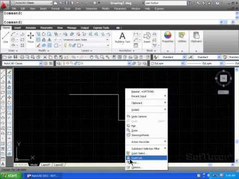9f09d195718 AutoCAD 2D - Mouse Button Functions & Configuration - YouTube