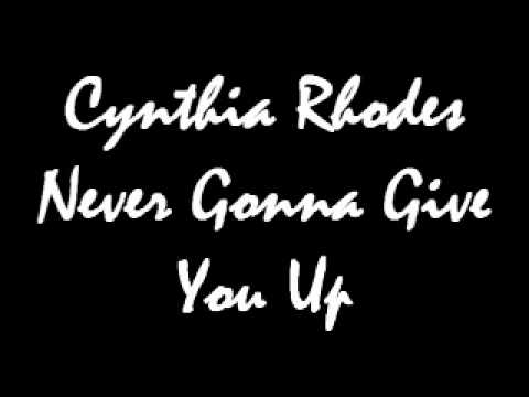 Cynthia  Rhodes - Never Gonna Give You Up.wmv