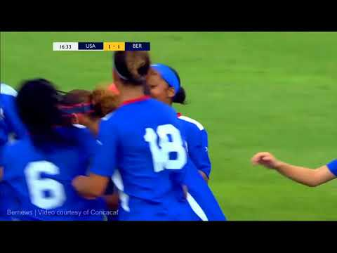 USA vs Bermuda Concacaf Women's U-17, June 6 2018