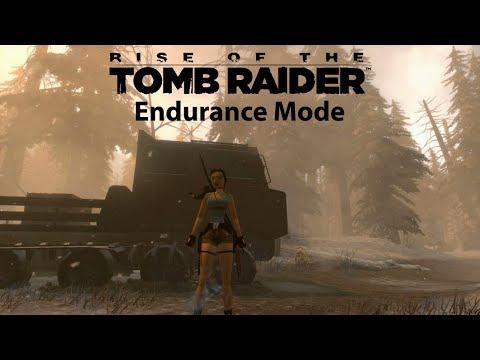 LARA THE SURVIVAR | Rise of the Tomb Raider - Endurance Mode