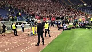 5,000 LFC Fans celebrate in Roma