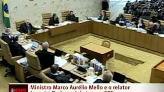 Briga dos Ministros Marco Aurélio e Joaquim Barbosa