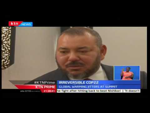 KTN Prime: French President Francois Hollander threatens Trump on retracting climate change deals