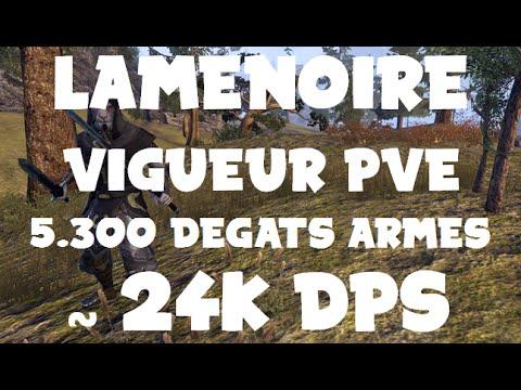Elder Scrolls Online Build Lamenoire Vigueur Pve