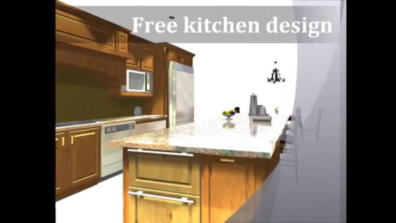 Free Kitchen Cabinets Design in El Paso, Texas - YouTube