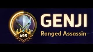 Level 490+ Genji Gameplay - Heroes of the Storm