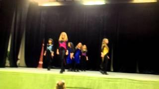 ирландский танец дети 17.03.2012