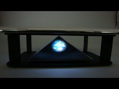 Un Hologramme 3D Avec votre smartphone Iphone UNBOXING HOLOGRAMME 3D