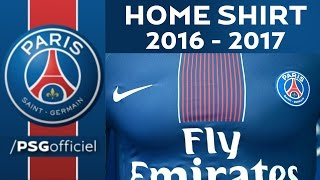 HOME SHIRT 2016 - 2017 - PARIS SAINT-GERMAIN
