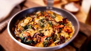 Sausage, Spinach & Egg Bake
