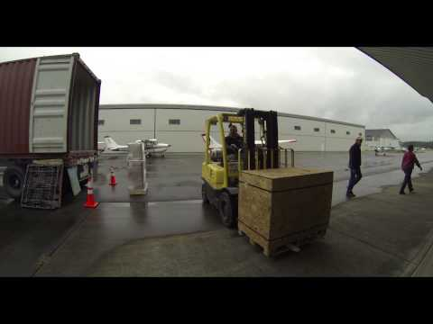 MATA Loading Container To Micronesia