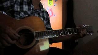 Bến vắng_Anh Tú guitar cover by Tien Dzé