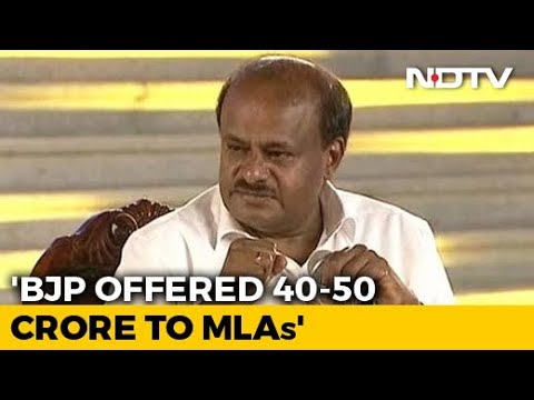 """""""Mimicry Not Easy"""": HD Kumaraswamy Rejects BJP's Fake Tape Charge"""