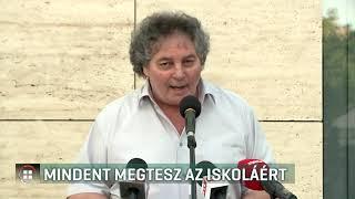 Mindent megtesz az iskoláért a budaörsi Illyés Gyula gimnázium igazgatója 19-07-24