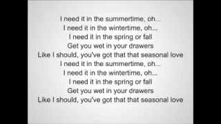 Sean Kingston - Seasonal Love Feat. Wale (Lyrics)