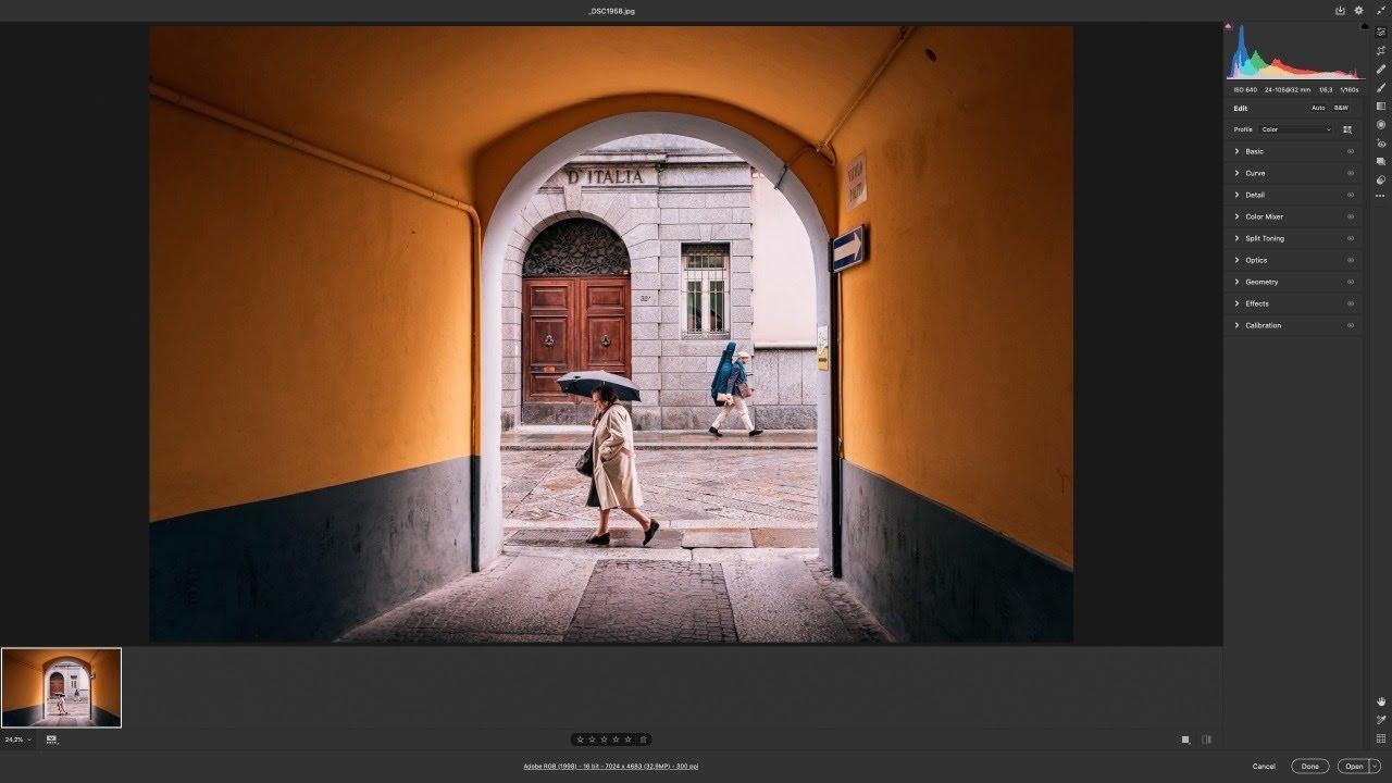 Adobe Camera Raw 2020 12.3.0 Yeni Arayüzünü İnceliyoruz - Canlı Yayın